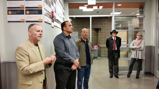 facilities committee tours college place high school