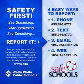 WWPS Safety Magnet