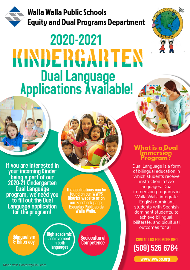 Dual Language Flyer - Made with PosterMyWall 2